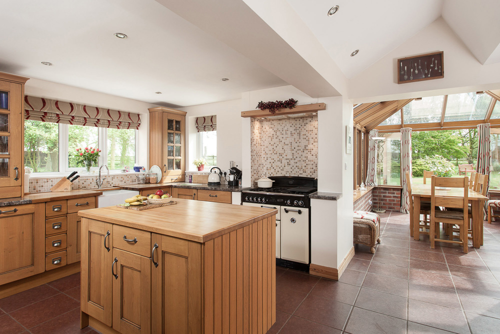 Interior Photography of Kitchen
