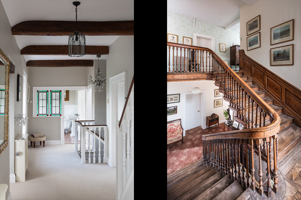 Home Photography of Stairs