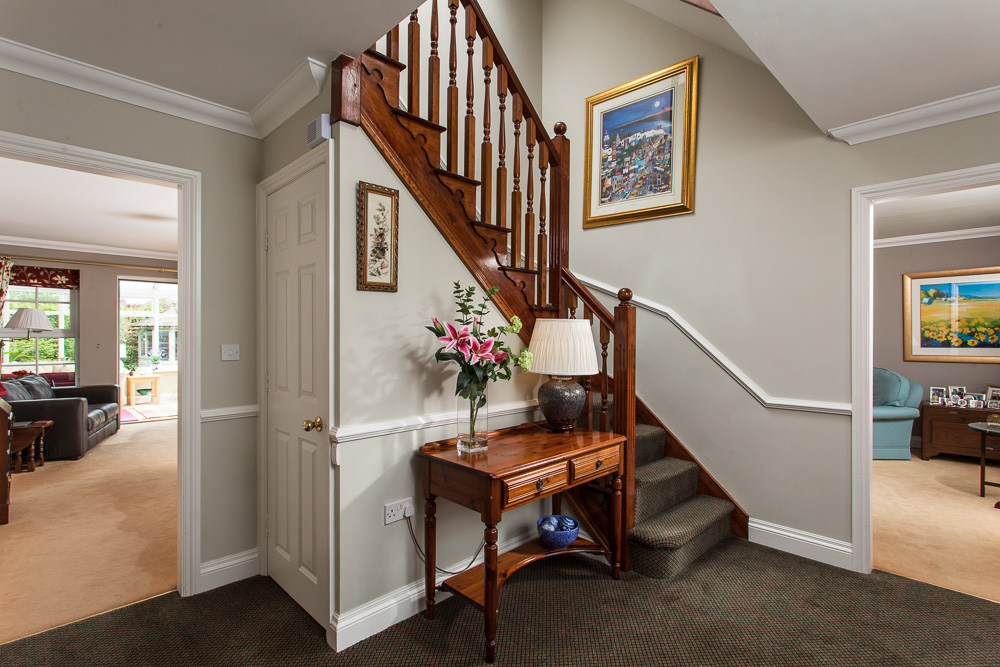 Home Photography of Staircase