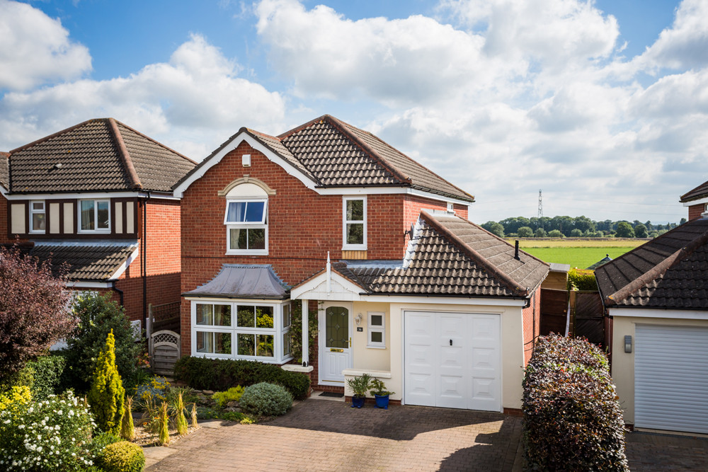 External photograph of well prepared house for sale