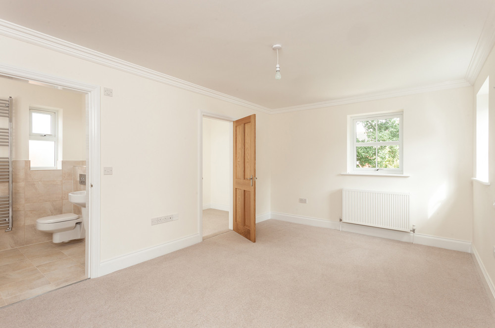 bedroom before virtual staging York