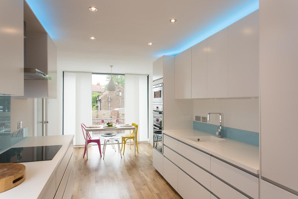 property photographs white kitchen york