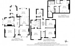 Estate agents house floor plan