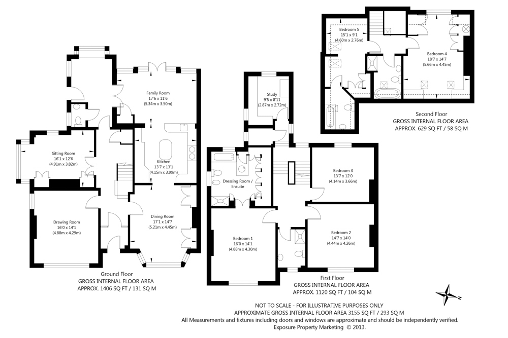 Draw floor plans for estate agents thefloors co for Estate home plans
